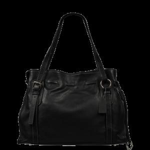Talianská kožená kabelka Maria Nera
