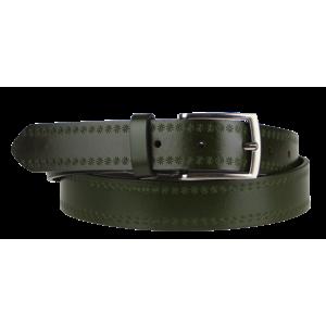 Cintura Stelle (2,9 cm) Farba opasku: zelená