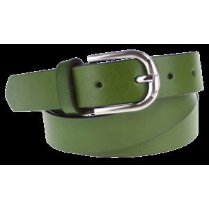 Cintura Liscio (2,8 cm) Farba opasku: zelená