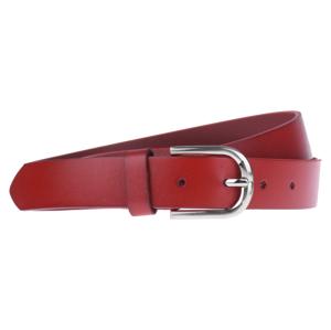 Cintura Liscio (2,8 cm) Farba opasku: červená