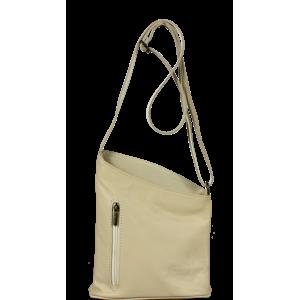 Talianská kožená kabelka Angola Beige Luce