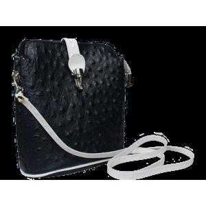 najkrajšie kabelky Fibbia Blu Bianca