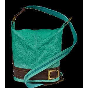 Modrá kabelka Adele Stampa Turchese