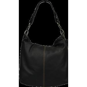Talianská kožená kabelka Chola Nera