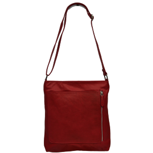 Talianská kožená kabelka Flora Rossa