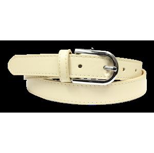 Kožený opasok Cintura Beige Secondo