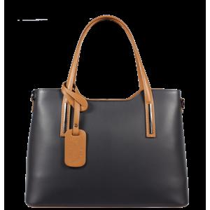 Pekná kabelka z Talianska Isidora Blu Camel