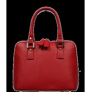 Talianská kožená kabelka Stella Rossa